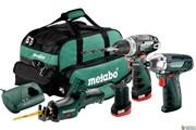 Metabo Combo Set 3.2 10.8 V набор аккумуляторных инструментов, 685057000