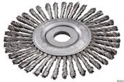 Круглая щетка 125x0,5x6 /22,23 мм, сталь, плетеная, Metabo, 626815000