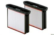 2 фильтровальные кассеты, полиэфир, нанопокрытие, класс пыли М, Metabo, 631894000