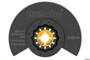 Сегментное пильное полотно, дерево/металл, BiM, O85 мм, Metabo, 626960000