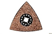 Треугольная шлифовальная пластина, швы/шпаклевка, НМ, 78 мм, Metabo, 626963000